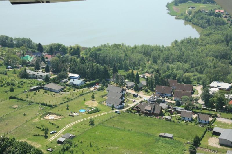 1.4 Luftbild Bansin Aufnachusedom Ferienwohnung Ferienhaus und Meehr Ahlbeck Bansin Usedom Insel 10 - Ferienhäuser in Bansin