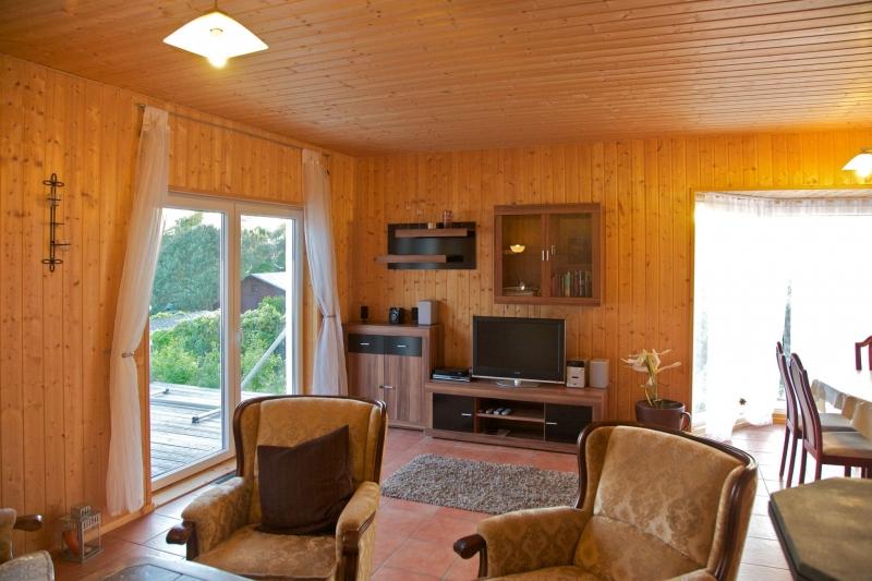 2b Wohnraum Aufnachusedom Ferienwohnung Ferienhaus und Meehr Ahlbeck Bansin Usedom Insel 24 - Ferienhäuser in Bansin