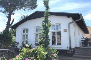 Außenansicht vom Ferienhaus in Ahlbeck